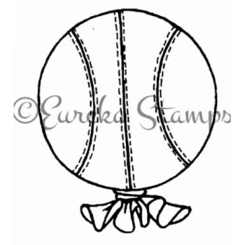 Basketball Balloon Digital Stamp