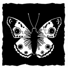 Shadow Butterfly Block Digital Stamp