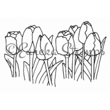 Tulips Digital Stamp