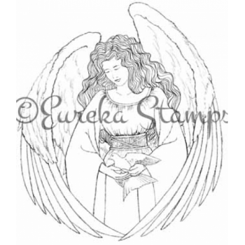 Angel Digital Stamp