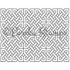 Celtic Background Digital Stamp