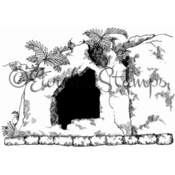 Empty Tomb Digital Stamp