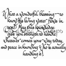 What a Wonderful Blessing Digital Stamp