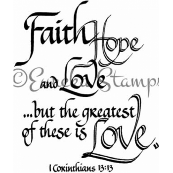 1 Corinthians 13 13 Digital Stamp