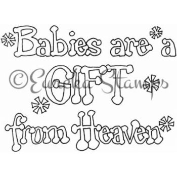 Babies are a Gift Digital Stamp