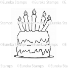 Large Cake Digital Stamp