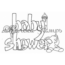 Baby Shower Digital Stamp