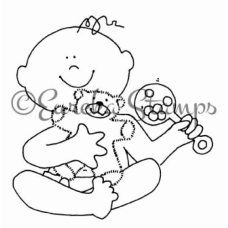 Baby Digital Stamp