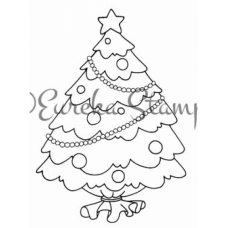 Tree Balloon Digital Stamp