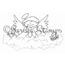 Boy Angel Digital Stamp