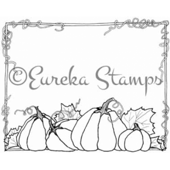 Fall Frame Digital Stamp