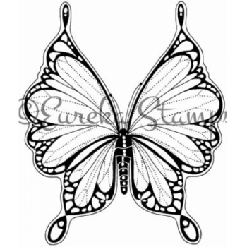 Lacy Butterfly Digital Stamp