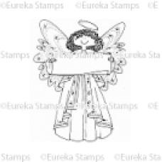 Banner Angel Digital Stamp