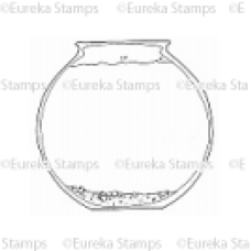 Fish Bowl Digital Stamp