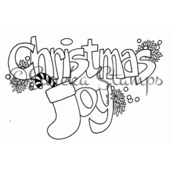 Christmas Joy Digital Stamp