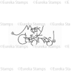 Merry Christmas Digital Stamp