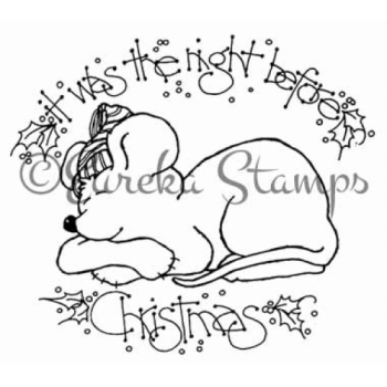The Night Before Christmas Digital Stamp