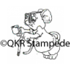 Begging Digital Stamp