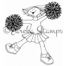 Cheerleader Digital Stamp