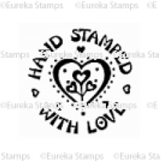 Hand Stamped with Love Digital Stamp