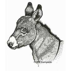 Donkey Head Digital Stamp