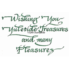 Yuletide Treasures Digital Stamp
