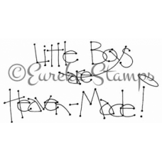 Little Boys Digital Stamp
