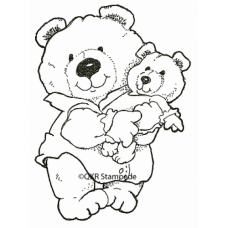 Baby Bear Digital Stamp