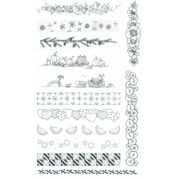 Borders Unmounted Stamps