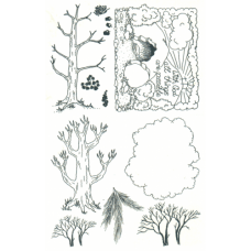 Trees Unmounted Stamps