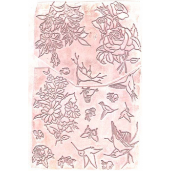 Floral Unmounted Stamps