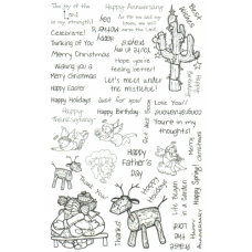 Greetings Unmounted Stamps