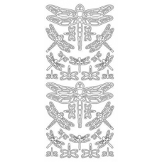 Dragonflies Outline sticker
