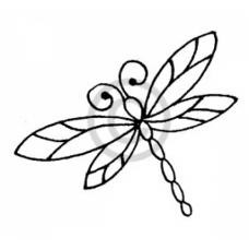 Dragonfly Cling Stamp