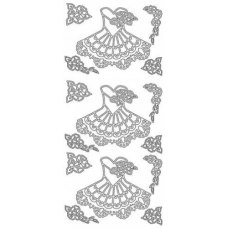 Dresses Outline Stickers