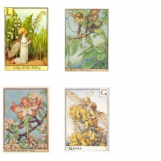 Fairies 1, Vintage Hues
