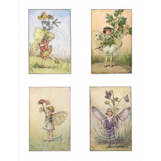 Fairies 11, Vintage Hues
