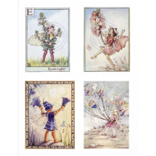 Fairies 12, Vintage Hues