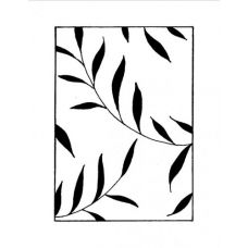 Fern Background, Art Acetate