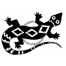 Gecko Cling Stamp