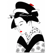Geisha Art Acetate