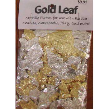 Gold and Silver Gold Leaf