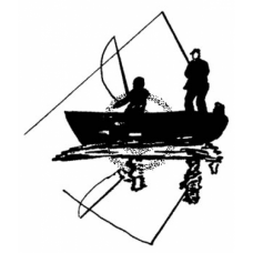 Gone Fishing Cling Stamp