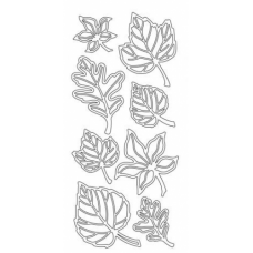 Leaves Assorted Outline Stickers