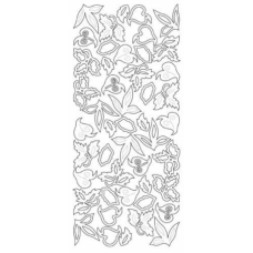 Leaves Outline Stickers