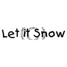 Let It Snow Cling Stamp
