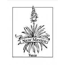 New Mexico, Art Acetate State Print