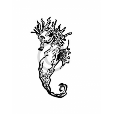 Sea Horse Cling Stamp