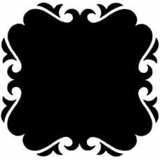Shadow Frame 2 Cling Stamp