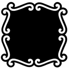 Shadow Frame 3 Cling Stamp